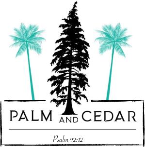 Palm and Cedar Logo